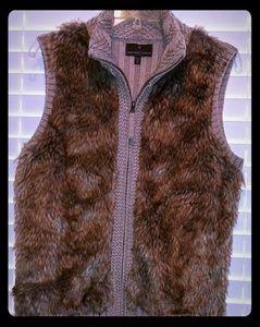 Like New Faux Vest